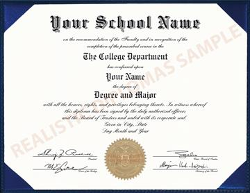 Buy Fake College & University Diplomas