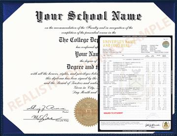 Buy Fake College & University Diploma and Transcripts