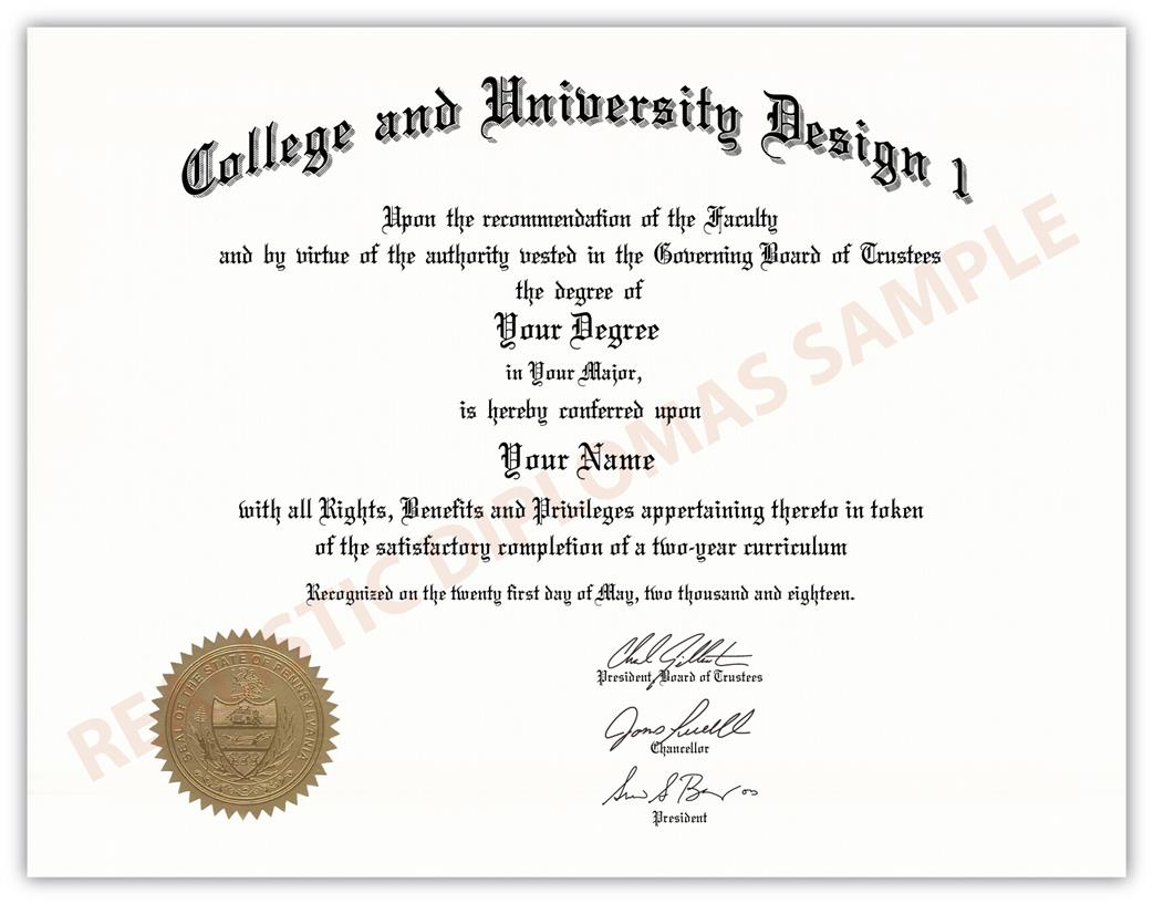 fake college university diplomas realistic diplomas