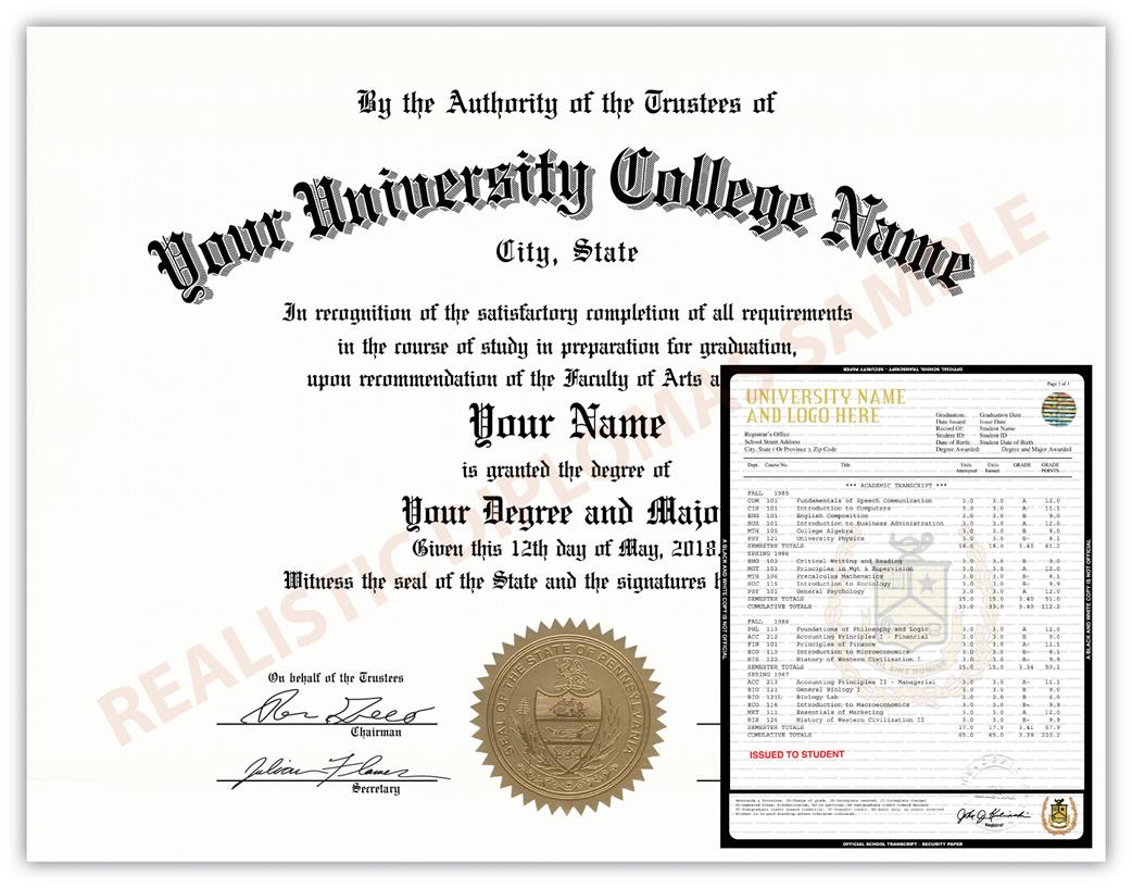 Fake College & University Diploma and Transcript Design 3a FAKE-COLLEGE-UNIVERSITY-DIPLOMA-TRANSCRIPT-3a