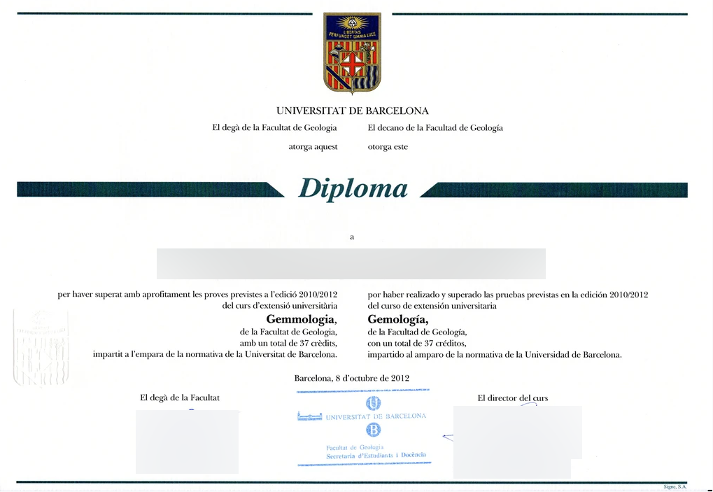 Match Replica Diploma ( Degree ) Spain MatchReplicaDiploma-Spain