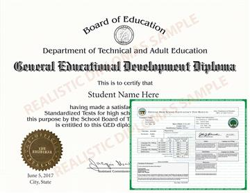 Fake GED Diploma and Transcripts Design 2 FAKE-GED-DIPLOMA-AND-TRANSCRIPTS-2