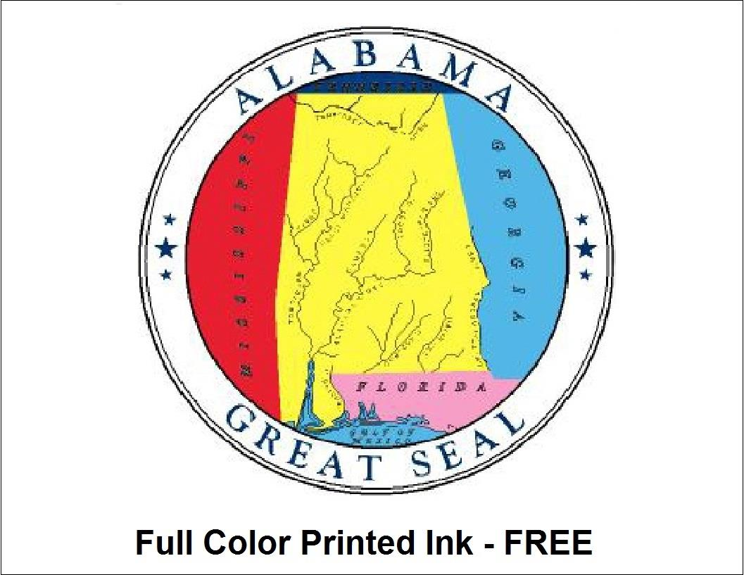 State Seal Color Ink