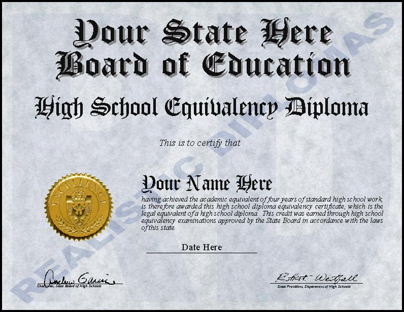 High School Diploma vs. GED
