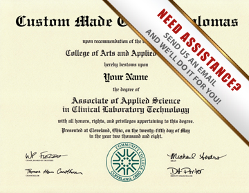 Fake associates degree diploma from actual diploma template for Fake college degree template