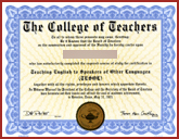 FAKE-CERTIFICATE-TESOL-ANY-SCHOOL-HOME - Fake Certificate TESOL Any School