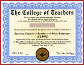 FAKE-CERTIFICATE-TESOL-ANY-SCHOOL-HOME - Fake Certificate TESOL Any School