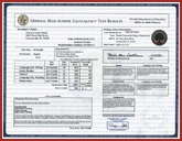 FAKE-GED-TRANSCRIPTS-HOME - Fake GED Transcripts (Score Sheets)