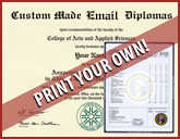 PRINT-YOUR-OWN - Print Your Own Diploma or Transcripts! PDF Downloadable Product
